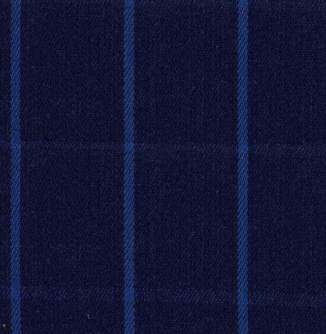 Azul con cuadros CELESTES